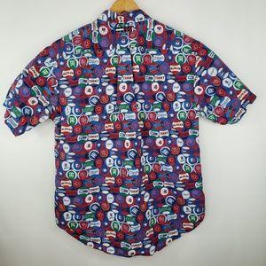 Tommy Hilfiger Shirts - Vintage Tommy Jeans TH Logo Baseballs